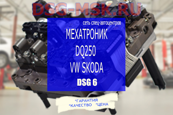 Мехатроник DSG DQ250