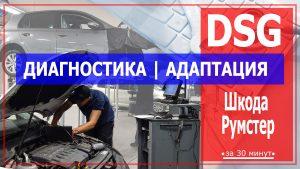 Диагностика ДСГ Шкода Румстер