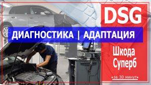 Диагностика ДСГ Шкода Суперб