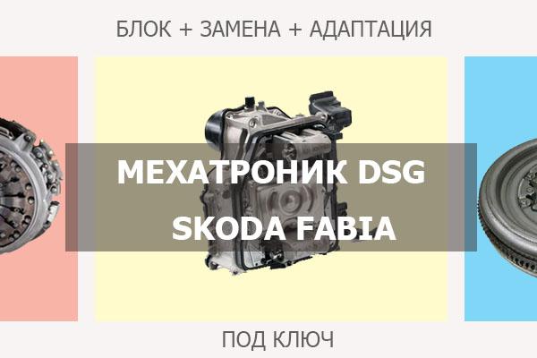 Мехатроник ДСГ Шкода Фабия