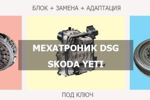Мехатроник ДСГ Шкода Йети