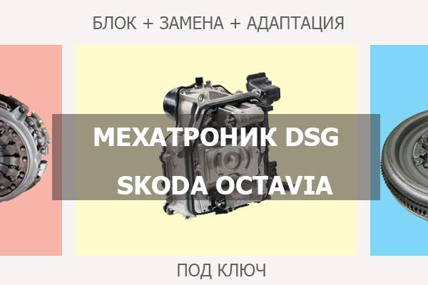 Мехатроник ДСГ Шкода Октавия