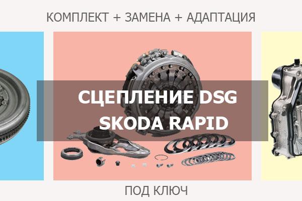Сцепление ДСГ Шкода Рапид